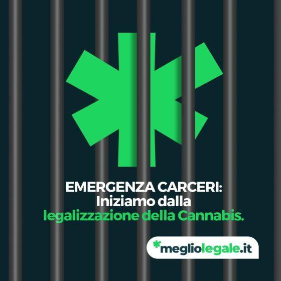 Cannabis per liberare le carceri