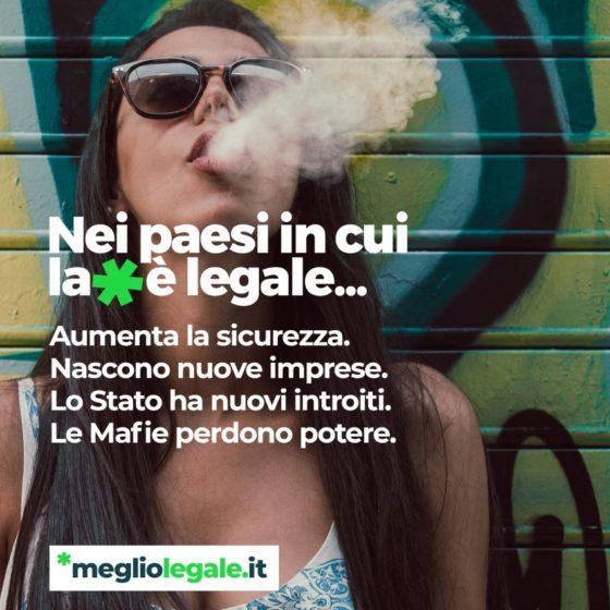 Nei paesi in cui la cannabis è legale...