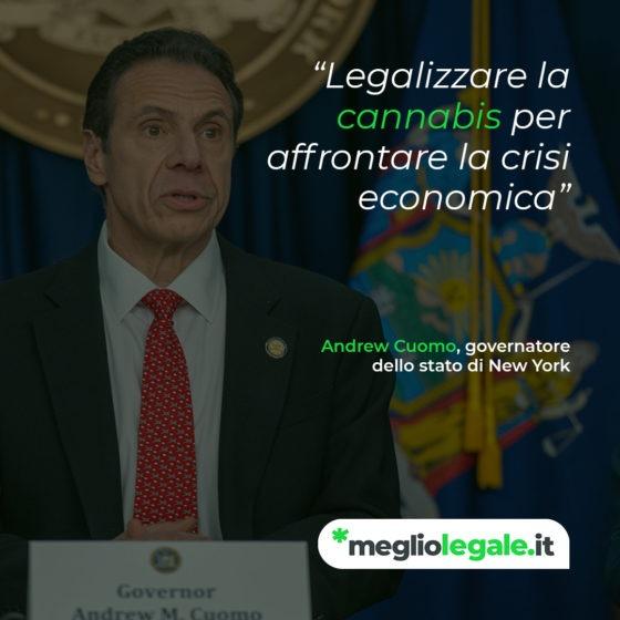 legalizzazione cannabis NY