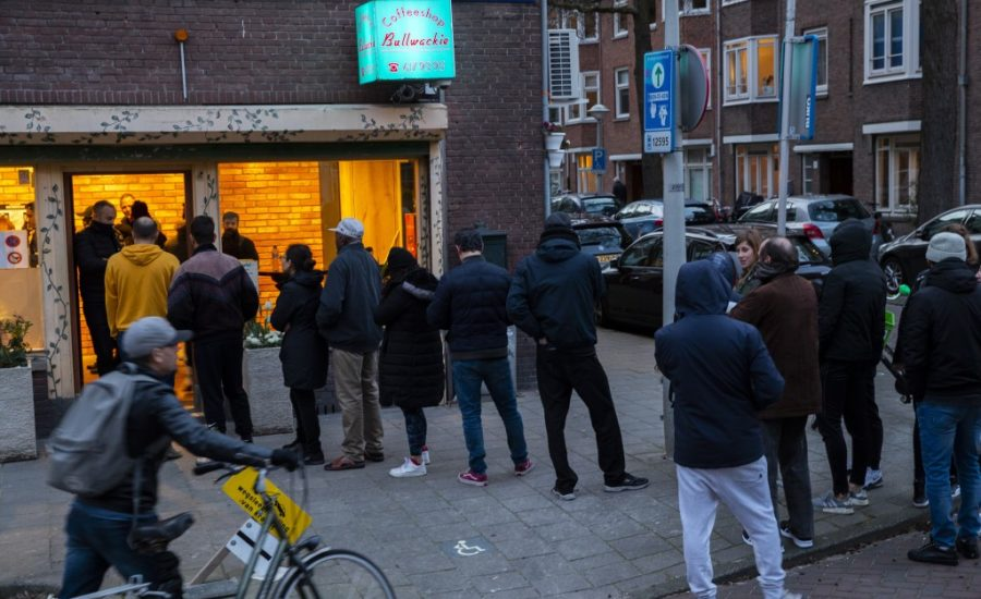 Covid19; cannabis in Olanda