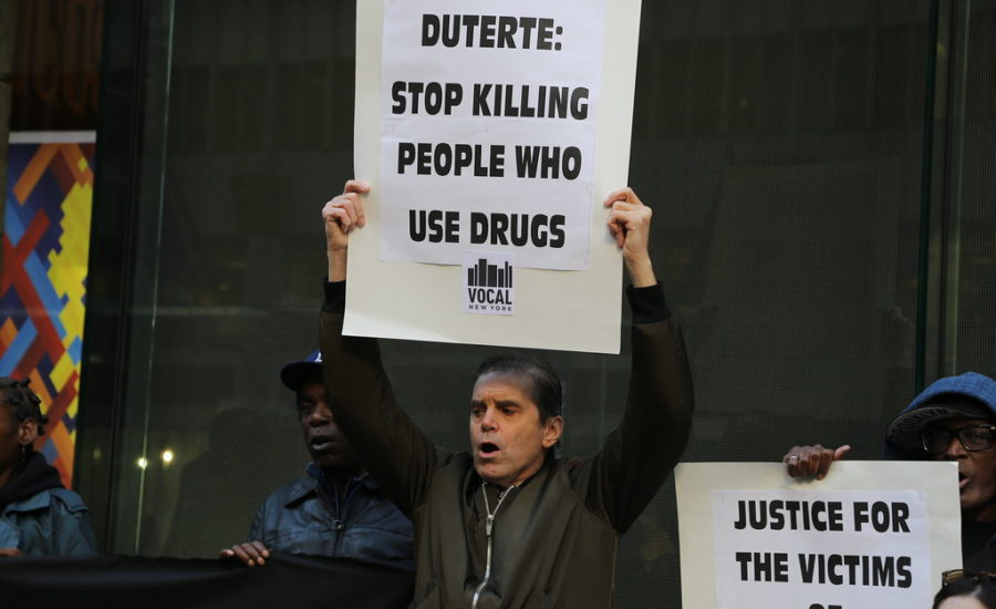 guerra alle droghe: filippine